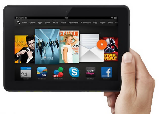 Amozon kindle fire HDX