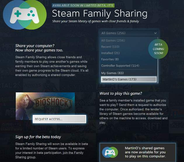 Steam Family Sharing nedir?