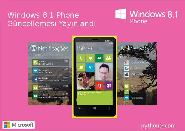 Windows Phone 8.1 güncelleme